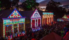 Sovereign Hill's Winter festival, 'Christmas in July' Winter Wonderlights, Ballarat, VIC