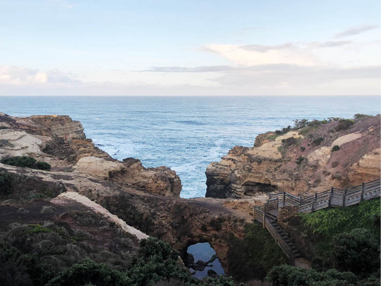 'The Grotto', located just out of Warrnambool, along the Great Ocean Road.