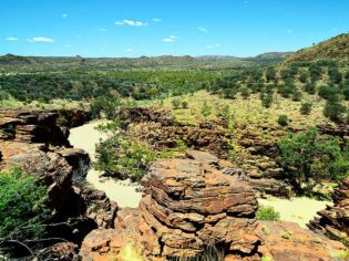 Trephina Gorge, East MacDonnell Ranges, Northern Territory