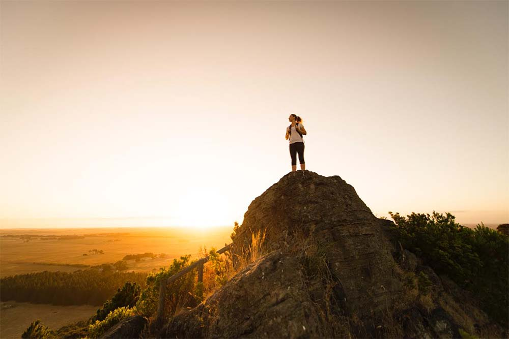 Climb the heights when you visit Mount Gambier