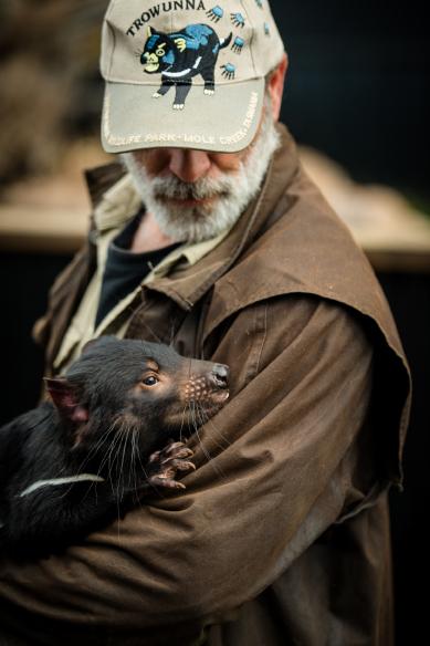 Trowunna Wildlife. Image via Eugene Hyland.