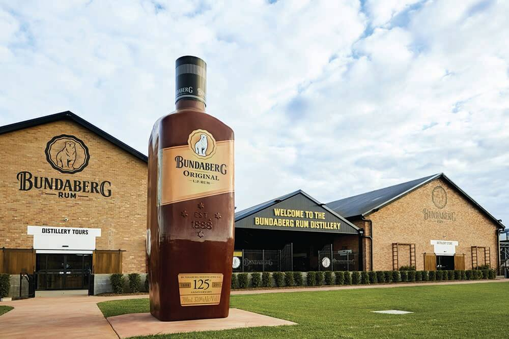 Don't be afraid to get your hands dirty at the Bundaberg Distillery