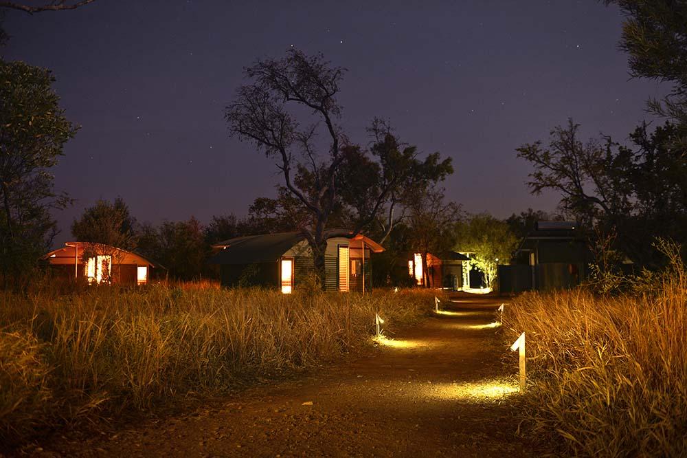 Camp under the glittery stars