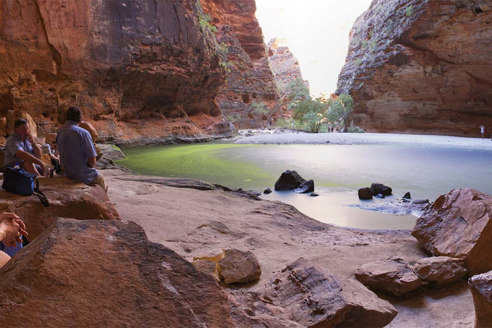 East Kimberley Tours Cathedral Gorge, Purnululu National Park