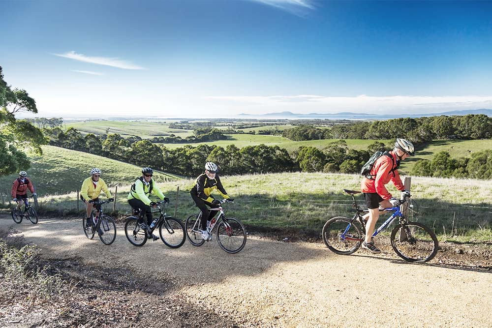 Ride the rail trails for views of a lifetime