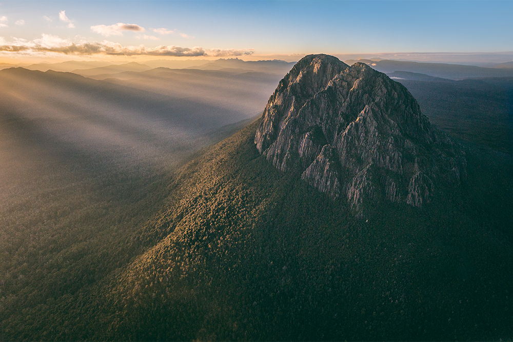 Bold and brave, the mountains in South West Tasmania are incredible - Image by Matt Glastonbury