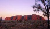 Sundown at Uluru
