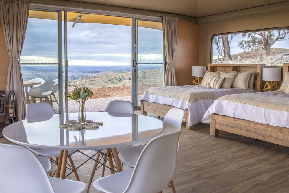 Inside Mudgee's latest glamping offering