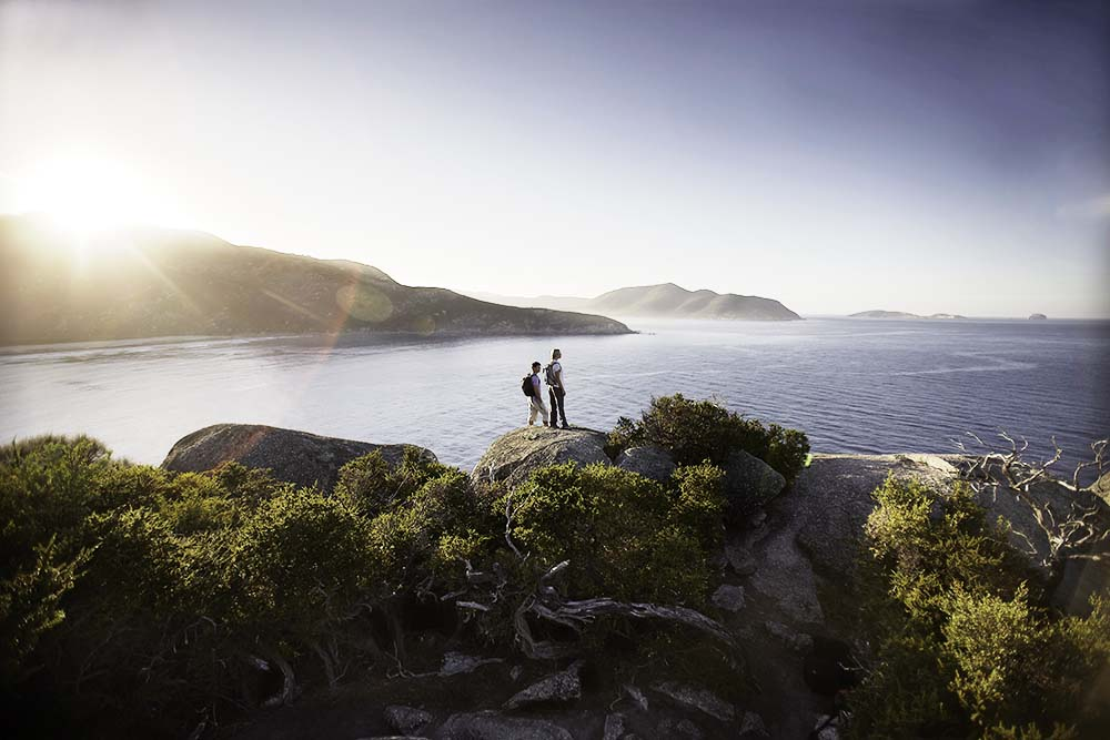 The southern tip of Wilsons Promontory