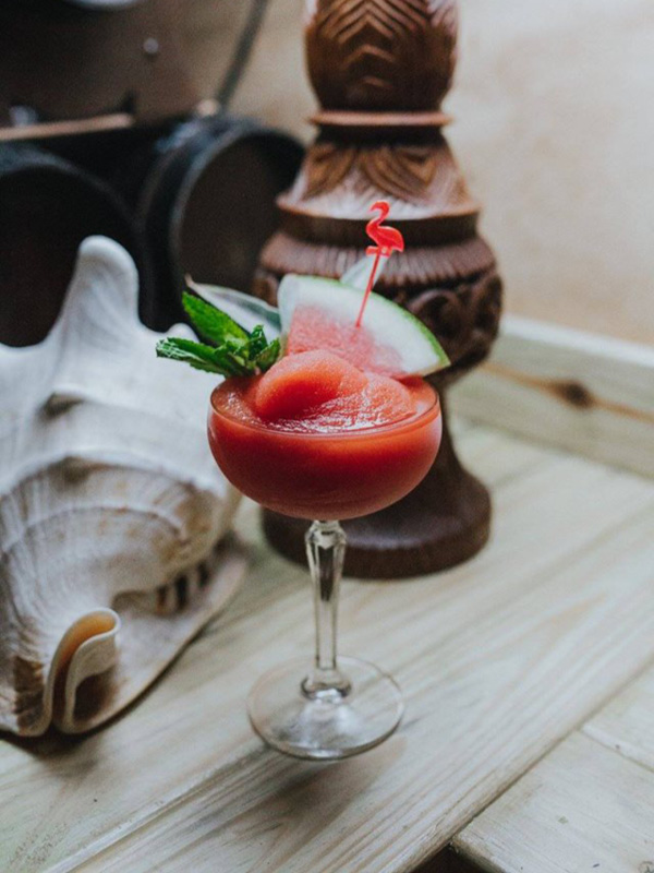Cocktails at Aloha Bar and Dining, Broadbeach