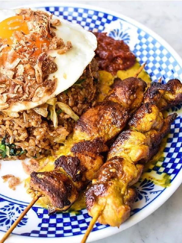 Nasi Goreng from Bam Bam Bakehouse, Broadbeach