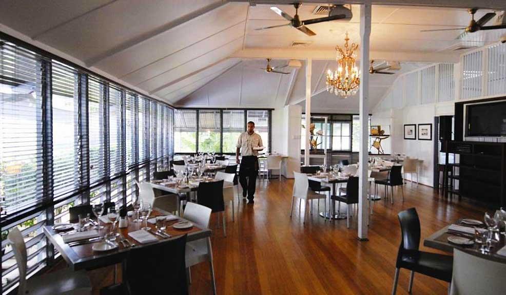 The most upmarket steak in the territory, Char Restaurant, Darwin.