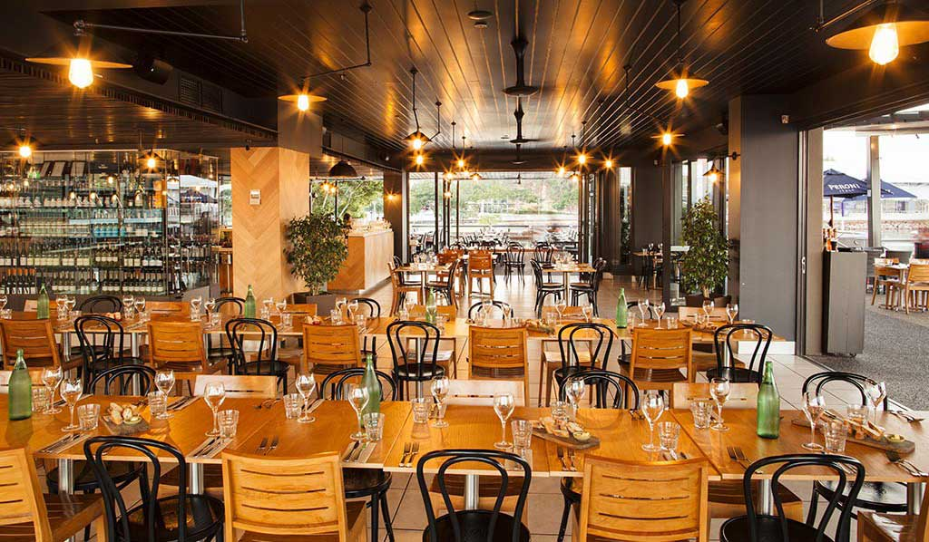 Wharf One, Darwin has the best crispy barra in town and a great wine list to match.