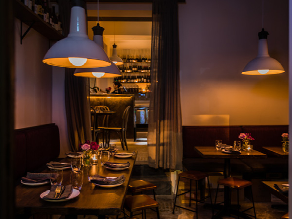 Mood lighting strikes the right balance at Dear Sainte Eloise