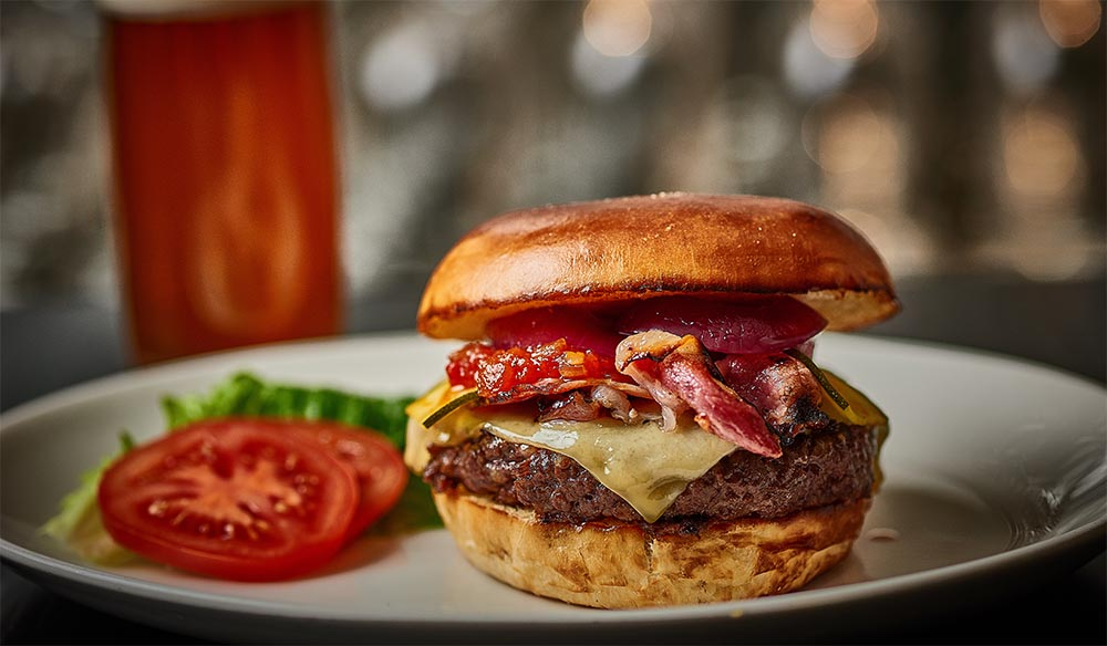 David Blackmore's Full Blood Wagyu Burger