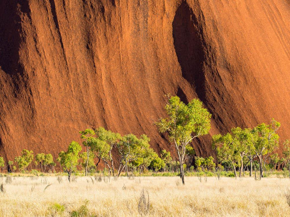 Uluru (Ayers Rock), Uluru-Kata Tjuta National Park, Northern Territory.