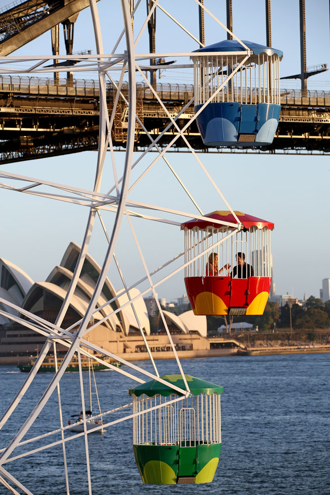 Ferris Wheel Dining, Luna Park.