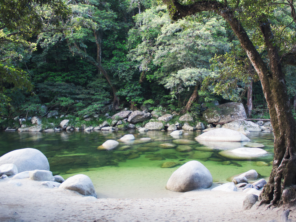 Mossman Gorge in Queensland, Australia