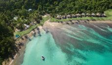 Aerial photo of Elysian Retreat