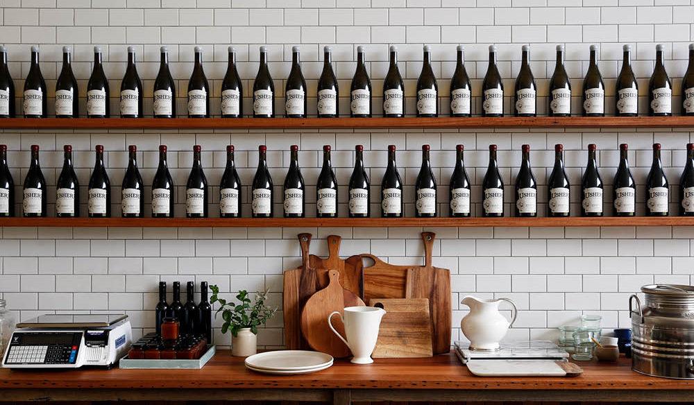 Usher Tinkler Wines.