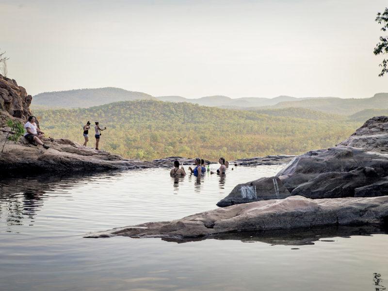 Gunlom Falls Top Pool.
