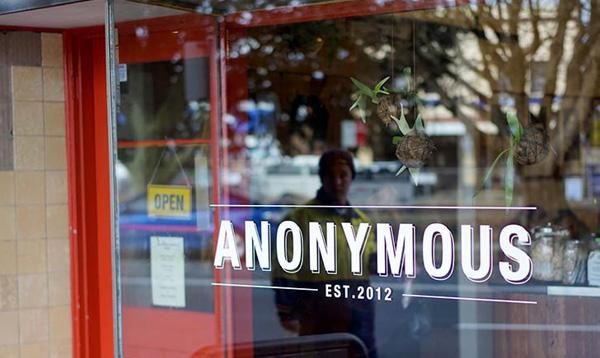 Anonymous Cafe, Blackheath