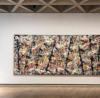 Jackson Pollock Blue Poles
