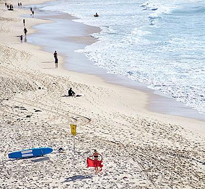 Bondi-to-Bronte coastal walk, Sydney.