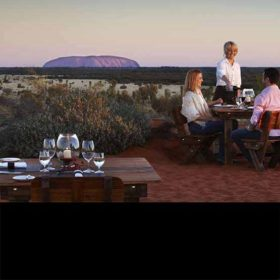 Tali Wiru dining at Uluru, NT