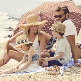 Daydream Island Family on Beach