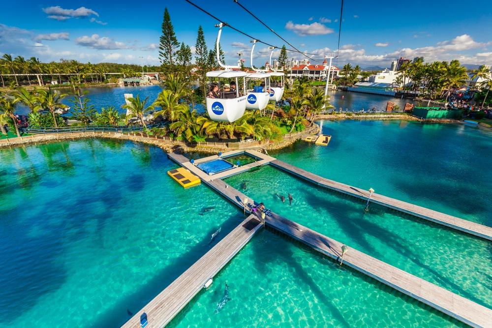 Gold-coast-theme-parks-cable-car