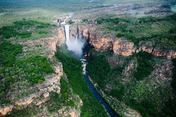 Kakadu falls.
