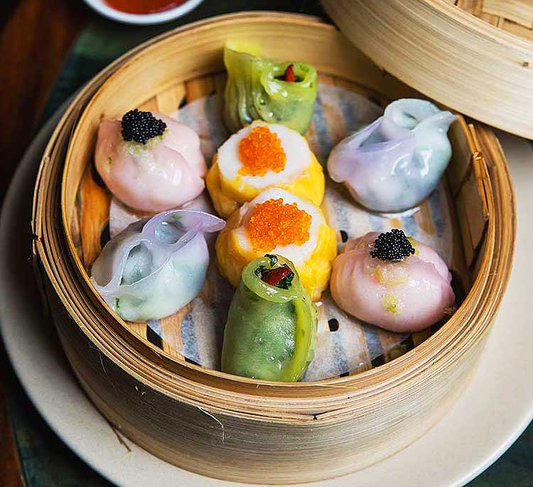 Michael Lup's hand-rolled dim sum at Mr. Wong