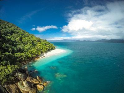 Island Great Barrier reef