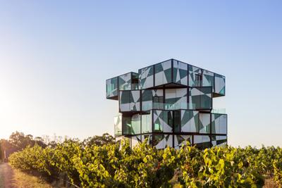 D'Arenberg Wine Cube.