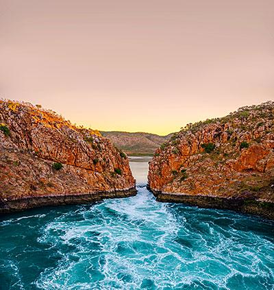 Horizontal Falls, The Kimberley.