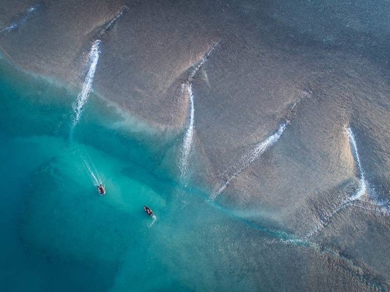 Aerial view of The Kimberley, WA