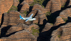 Flight over bungle bungle ranges