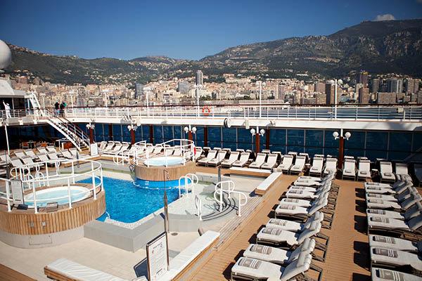 Azamara Pool Deck