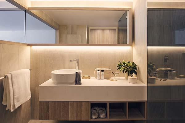 Daydream Island Resort bathroom in King Room