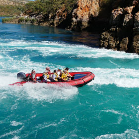 Coral Expeditions rafting, Kimberley WA