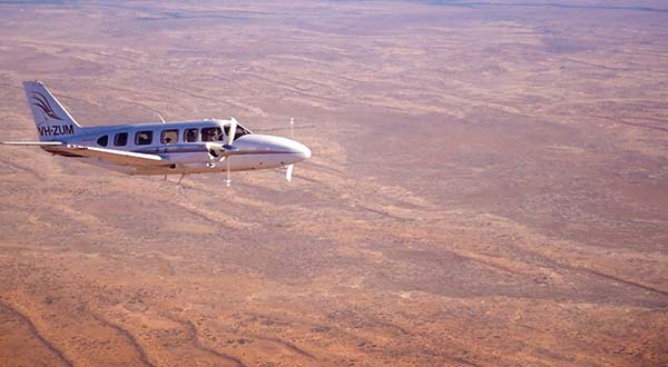 Plane from Kirkhope Aviation tours