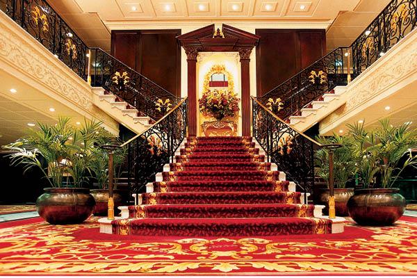 Oceania Cruises Grand Staircase