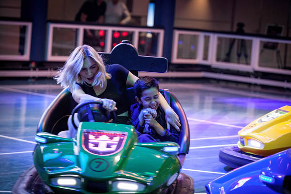 Bumper cars, Ovation of the Seas