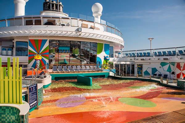 Ovation of the Seas H2O Splash Zone