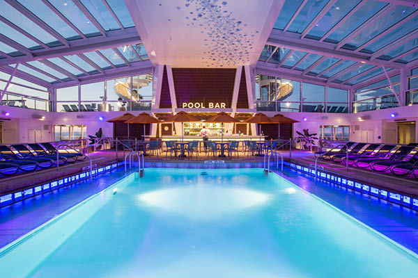 Ovation of the Seas Indoor Pool