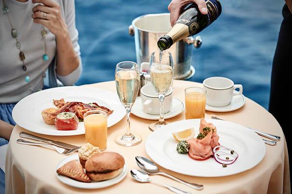 Ultimate balcony dining, Princess Cruises