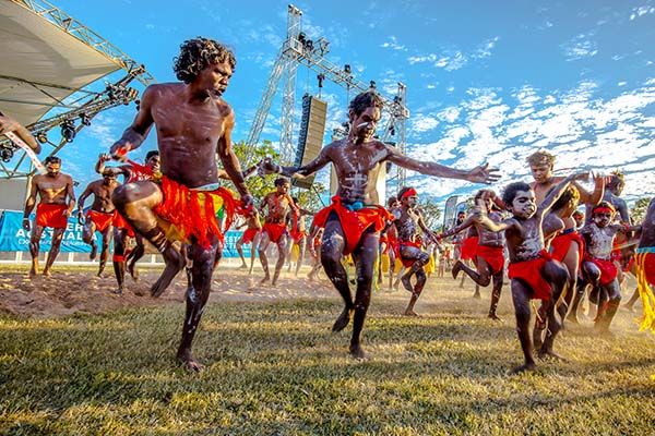 Cultural performances at Ord Valley Muster