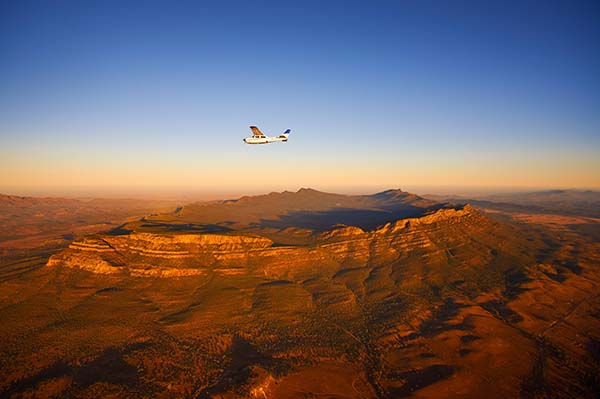 Aerial view of Wilpena Pound, South Australia
