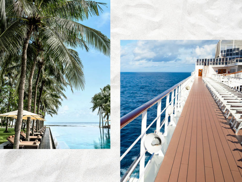 Resort vs Cruise Holiday